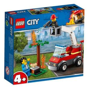 Lego Playset City Barbacue Burn Out