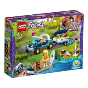 Lego Playset Friends Stephanie's Buggy And Trailer