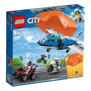 Lego Playset City Police Parachute Arrest