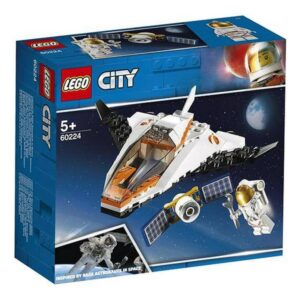 Lego Playset City Satallite Service Mission