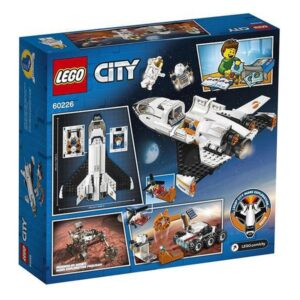 Lego Playset City Mars Research Shuttle