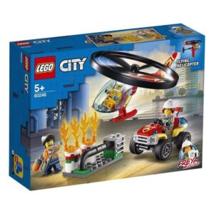 Lego Playset City Fire Response Helicopter