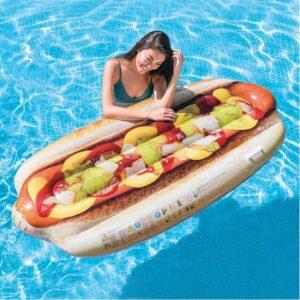 Colchão Insuflável Intex Hot dog (180 X 89 cm)