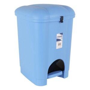 Balde de Lixo com Pedal Tontarelli Plástico Azul 16 L
