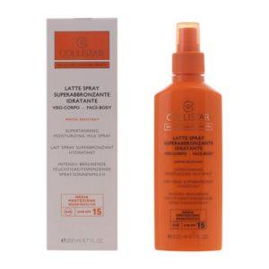 Spray Bronzeador Perfect Tanning Collistar Spf 15 (200 ml)