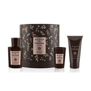 Conjunto de Perfume Homem Sandalo Acqua Di Parma (3 pcs)