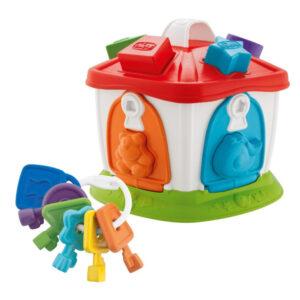 Jogo de Habilidade para Bebé Casa De Los Animales Chicco 10 pcs (18+ meses)