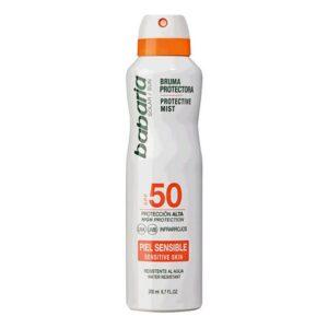 Bruma Solar Protetora Babaria Spf 50 (200 ml) Pele sensível