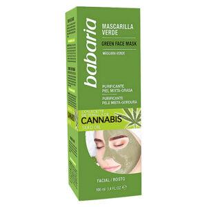 Máscara purificante Cannabis Babaria (100 ml)