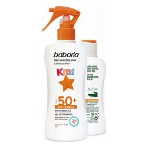 Conjunto de Proteção Solar Kids Babaria Spf 50+ (2 pcs)