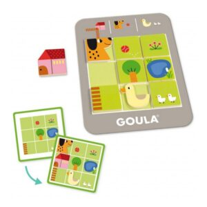 Jogo de Habilidade para Bebé Logic Farm Diset (3+ anos)