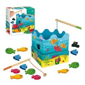 Jogo de Pesca com Peixes Diset (3+ anos)