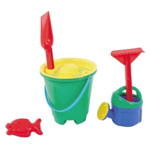 Conjunto de brinquedos de praia (6 pcs)