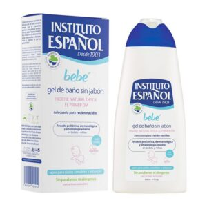 Gel de Duche Sem Sabão Bebé Instituto Español (500 ml)