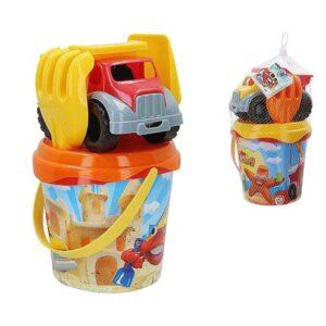 Conjunto de brinquedos de praia Mr Craby (5 pcs)