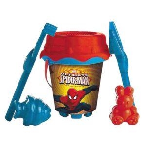 Conjunto de brinquedos de praia Spiderman (6 pcs)