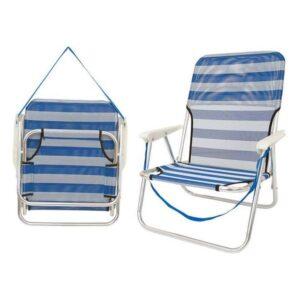 Cadeira de Campismo Acolchoada (54 x 40 x 71 cm)