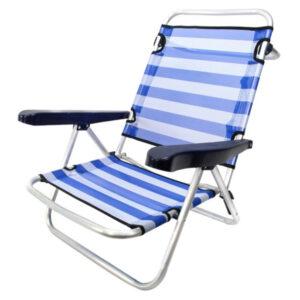 Cadeira de Campismo Acolchoada (61 x 47 x 80 cm)