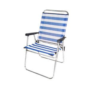 Cadeira de Campismo Acolchoada (57 x 50 x 88 cm)