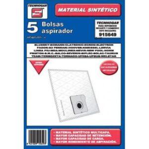 Sacos para Aspirador Compatível com 25 Marcas 915649 (5 uds)