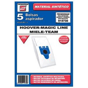 Sacos para Aspirador Hoover - Magic Line - Miele - Team  - 915730 (5 uds)