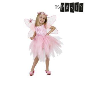 Fantasia para Crianças Th3 Party Fada Cor de rosa 3-4 Anos