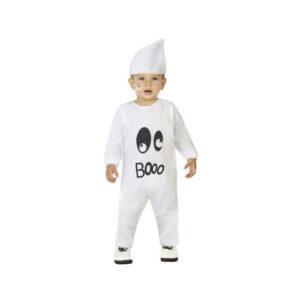 Fantasia para Bebés Fantasma Branco (2 Pcs) 12-24 Meses