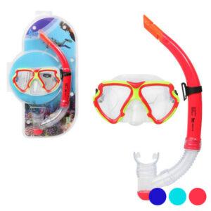 Óculos de Mergulho com Tubo Adultos 117560 Vermelho