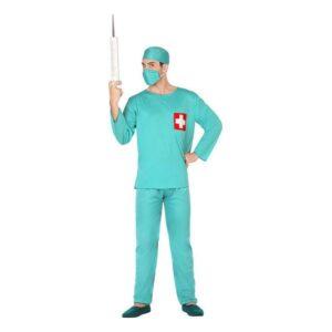 Fantasia para Adultos 117180 Doutor Verde (3 Pcs) XL