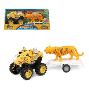 Carro Bigfoot 119794 Tigre Amarelo