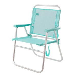 Cadeira de Campismo Acolchoada (57 x 50 x 78 cm)