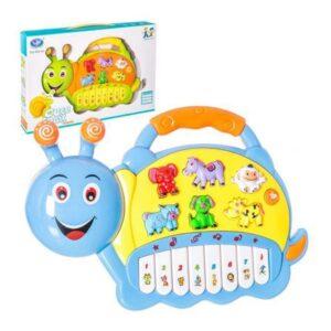 Brinquedo musical Juinsa Caracol Azul Amarelo (18+ meses)
