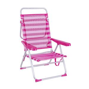 Cadeira de Campismo Acolchoada (61 x 26 x 100 cm)