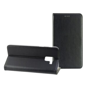 Capa para Telemóvel com Cobertura Samsung Galaxy S9 Contact Slim Preto Têxtil Policarbonato