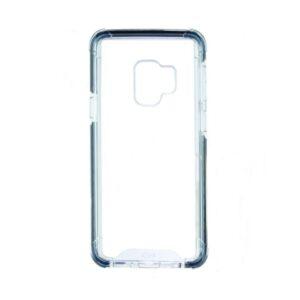 Capa para Telemóvel Samsung Galaxy S9 KSIX Flex Armor TPU Policarbonato Preto Transparente