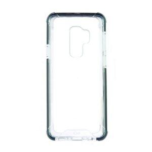 Capa para Telemóvel Samsung Galaxy S9+ KSIX Flex Armor TPU Policarbonato Preto Transparente