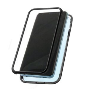 Capa para Telemóvel Samsung Galaxy S9 KSIX Magnetic (2 Pcs) Preto