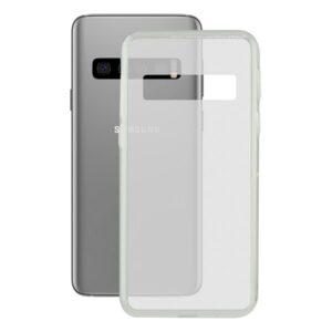 Capa para Telemóvel Samsung Galaxy S10+ Contact Flex TPU Transparente