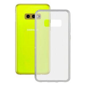Capa para Telemóvel Samsung Galaxy S10e Contact Flex TPU Transparente