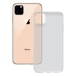 Capa para Telemóvel Iphone 11 Pro Max Contact Flex TPU Transparente
