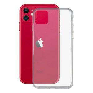 Capa para Telemóvel Iphone 11 Pro Contact Flex TPU Transparente