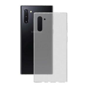 Capa para Telemóvel Samsung Galaxy Note 10 KSIX Flex Transparente