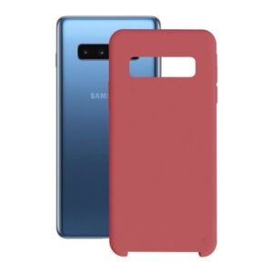 Capa para Telemóvel Samsung Galaxy S10+ KSIX Soft Vermelho