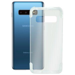 Capa para Telemóvel Samsung Galaxy S10+ KSIX Armor Extreme Transparente