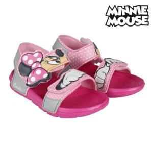 Sandálias de Praia Minnie Mouse 73057 Cor de rosa 29