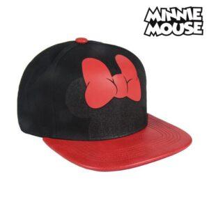 Boné Infantil Minnie Mouse 73596 (Ø 57 cm) Preto Vermelho