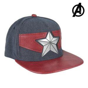 Boné com Viseira Plana The Avengers 77877 (56 cm)