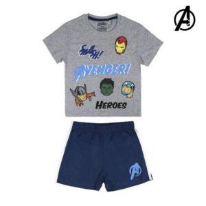 Pijama de Verão The Avengers 73470 3 anos