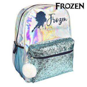 Mochila Escolar Frozen 72679 Azul claro Metalizado