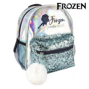 Mochila Casual Frozen 72685 Azul claro Metalizado